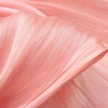 Nude Pink Silk Abaca
